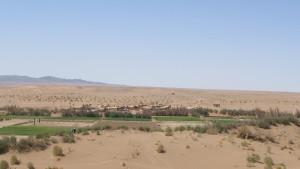 دورنمای روستای فرحزاد