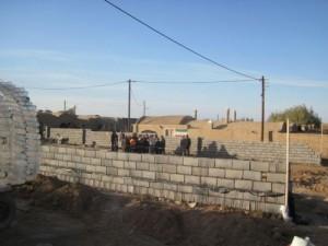 دیوار غیرقانونی فرحزاد